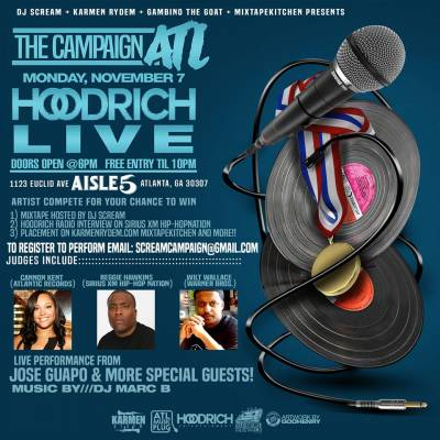 The Campaign ATL: HOODRICH LIVE (free entry before 10pm)