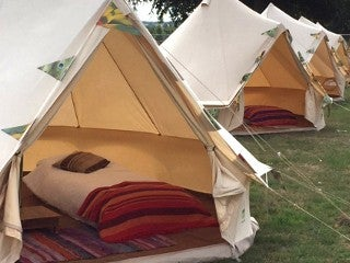& Canvas Ridge Tent for 2 in Metal Forest