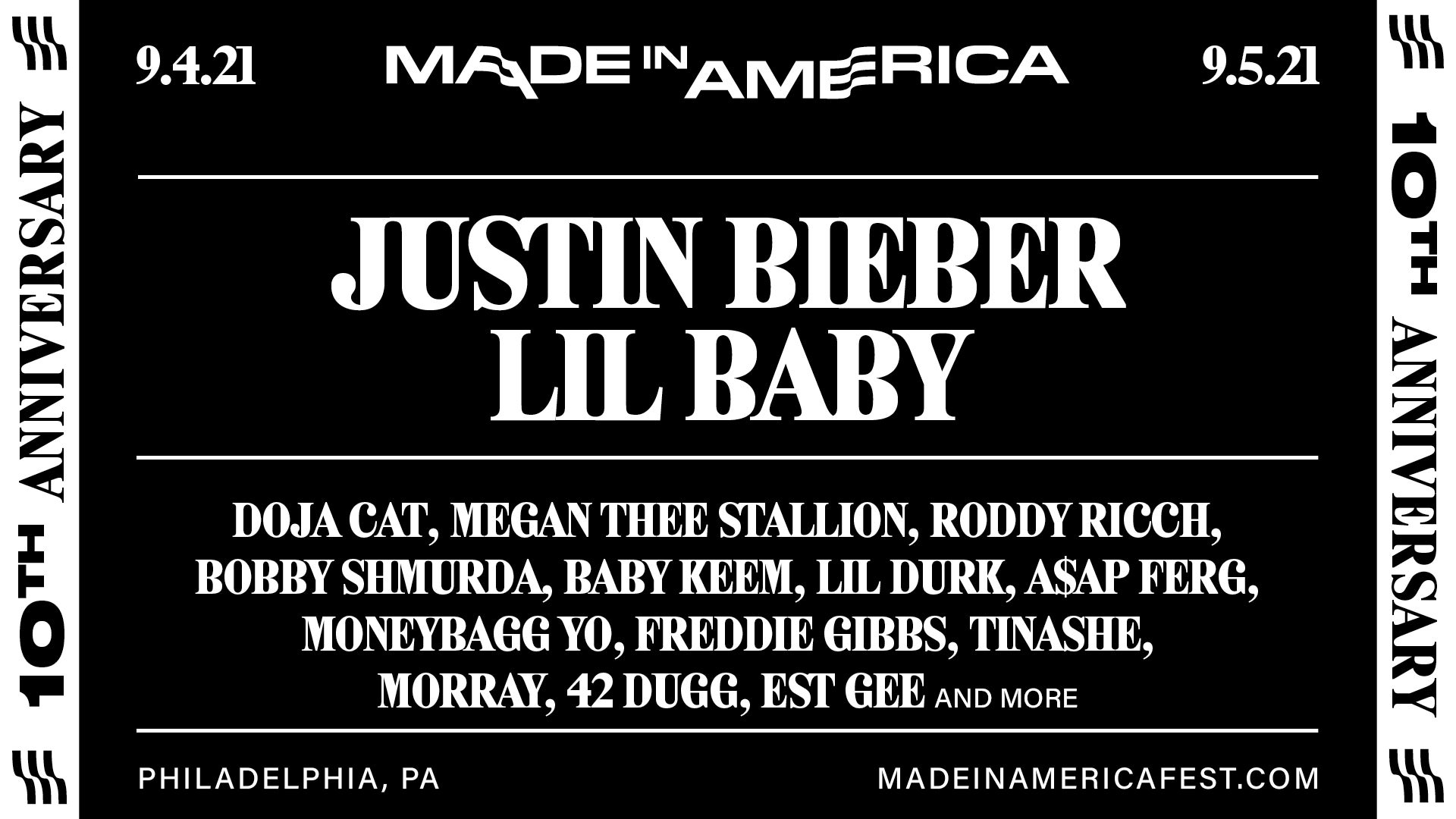 made in america lineup 2021